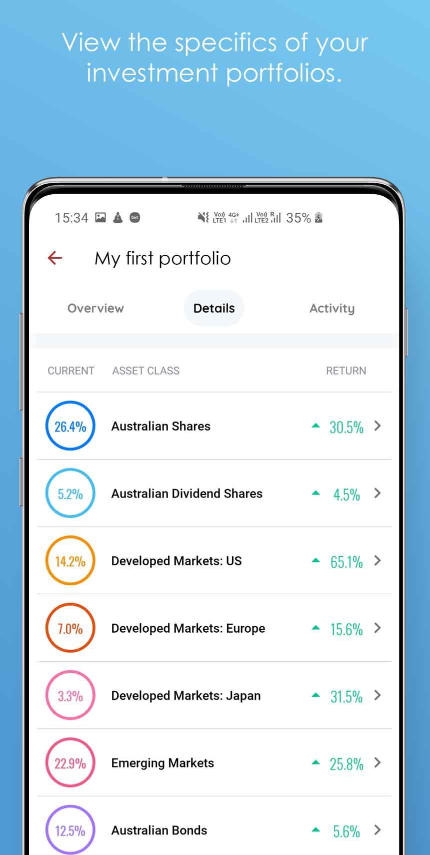 QuietGrowth Andriod App Portfolio
